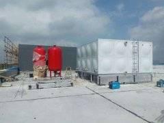 不锈钢消防箱泵一体化